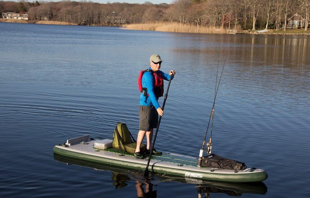 Így fogd ki az aranyhalat SUP-pal avagy horgászás SUP-pal!