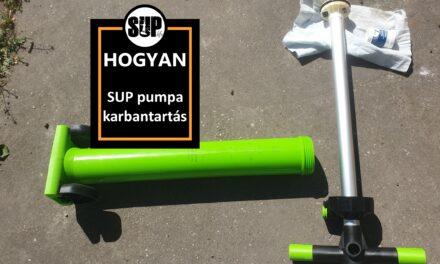 SUP pumpa karbantartása