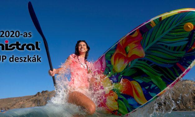 Bemutatkozik a Mistral három SUP modellje, Adventure, Equipe, Floral