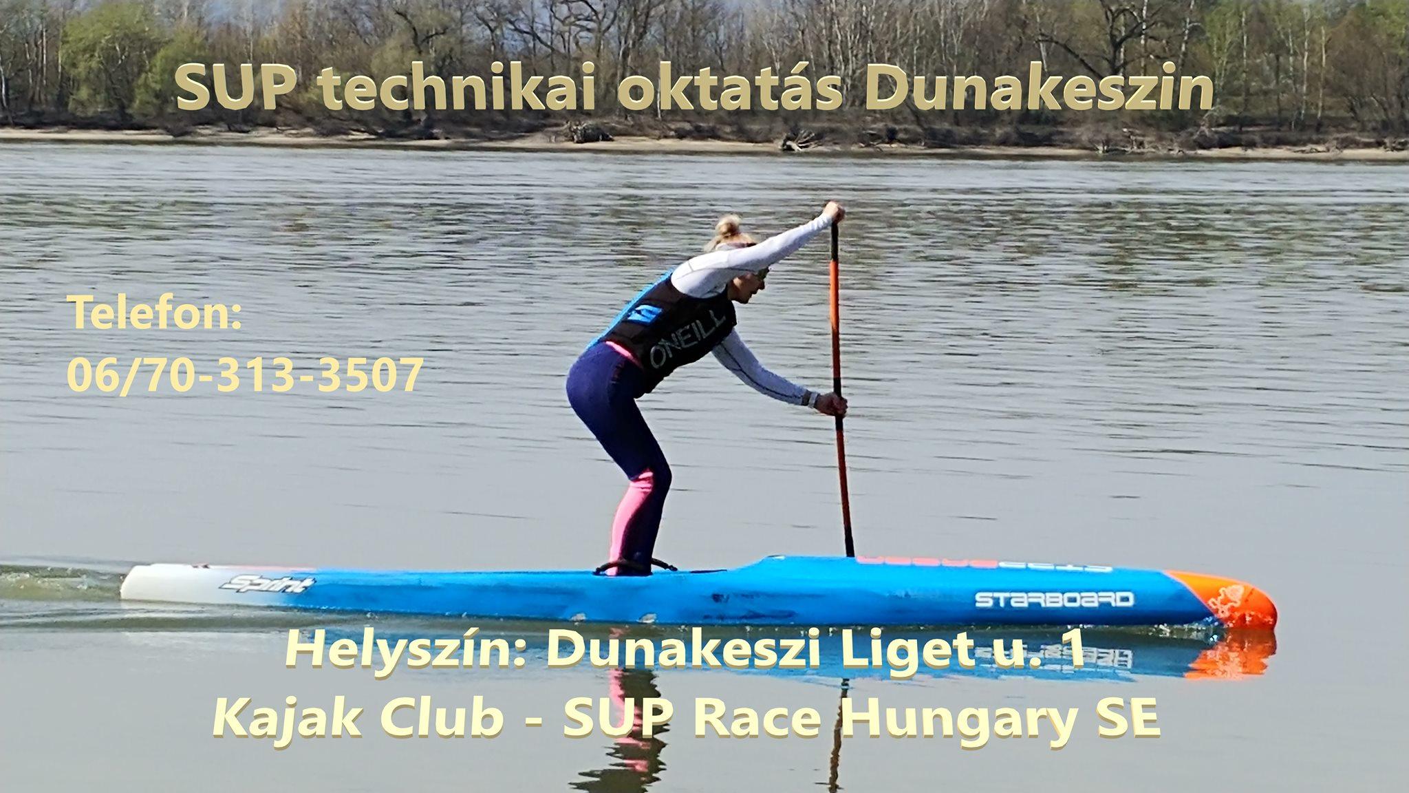 SUP technikai oktatás Dunakeszin - SUPlife.hu