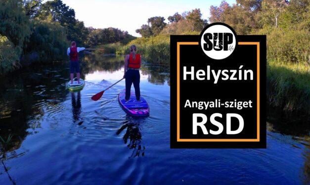RSD Angyali-Sziget – SUP helyszínek
