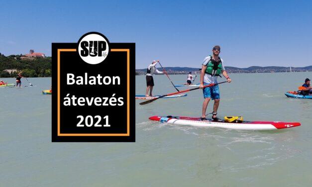Hullámok hátán – Balaton átevezés 2021