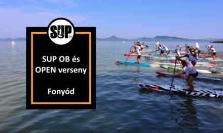 SUP OB és Open verseny – Fonyód